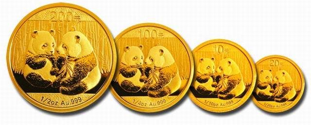 Инвестиционные золотые монеты Панда